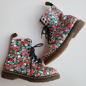 Dr. Martens Shoes - Dr. Martens Pascal Floral Boots
